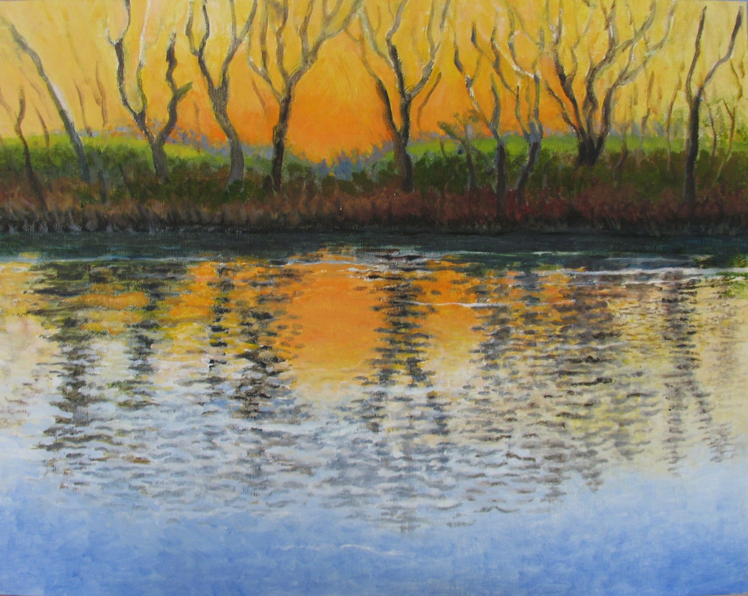 Sacramento River Sunset