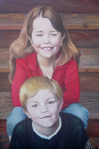 Children in Felton