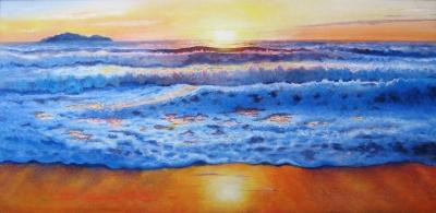 Sunset Ocean, Trinidad