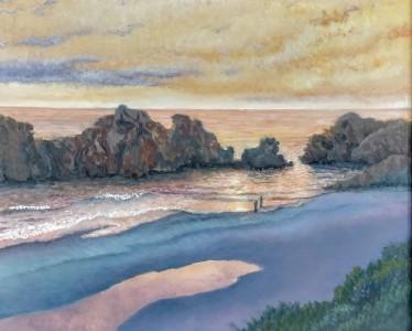 The Sand Mirror, Bandon Oregon